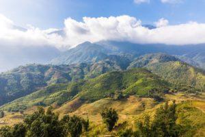 Berge in Nordvietnam