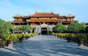 Tempel in Hue in Zentralvietnam